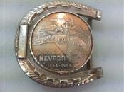 Silver Belt Buckle 925 Silver 83.4g